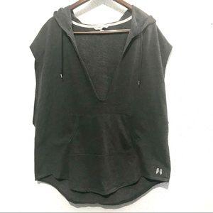 Victoria's Secret hooded short sleeve sweatshirt